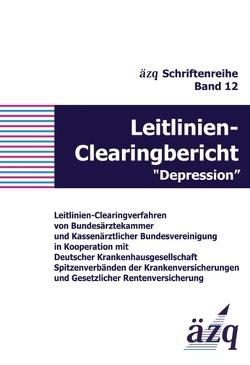 """Leitlinien-Clearingbericht """"Depression"""" von ÄZQ"""