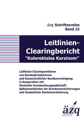 """Leitlinien-Clearingbericht """"Kolorektales Karzinom"""" von ÄZQ"""