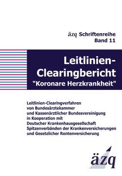 """Leitlinien-Clearingbericht """"Koronare Herzkrankheit"""" von ÄZQ"""
