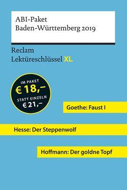 Lektüreschlüssel XL. Abi-Paket Baden-Württemberg 2019 von Leis,  Mario, Neubauer,  Martin, Patzer,  Georg