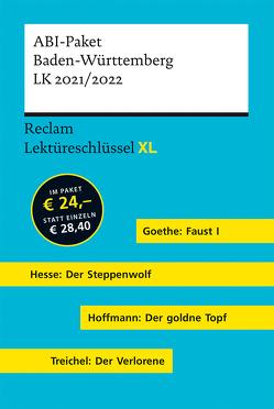 Lektüreschlüssel XL. ABI-Paket Baden-Württemberg LK 2021/2022 von Leis,  Mario, Neubauer,  Martin, Patzer,  Georg, Standke,  Jan