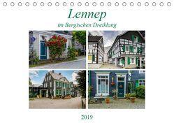 Lennep im Bergischen Dreiklang (Tischkalender 2019 DIN A5 quer) von Frauke Fuck,  FF-PhotoArt