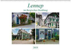 Lennep im Bergischen Dreiklang (Wandkalender 2019 DIN A2 quer) von Frauke Fuck,  FF-PhotoArt