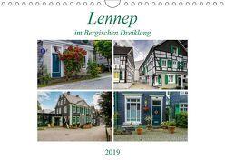 Lennep im Bergischen Dreiklang (Wandkalender 2019 DIN A4 quer) von Frauke Fuck,  FF-PhotoArt
