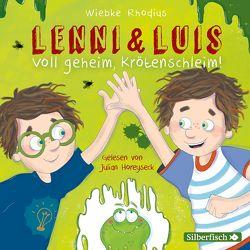Lenni und Luis 2: Voll geheim, Krötenschleim! von Horeyseck,  Julian, Rhodius,  Wiebke
