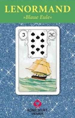 """Lenormand-Karten """"Blaue Eule"""", SA"""