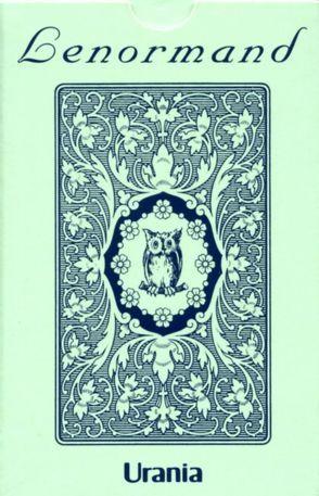 Lenormand Orakelkarten – Blaue Eule