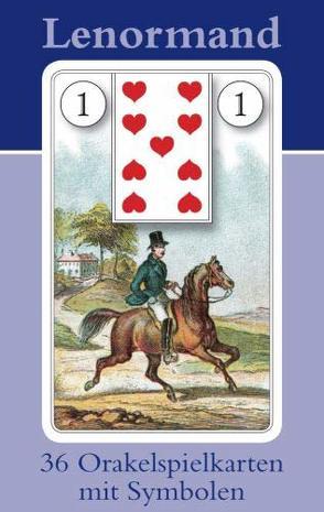 Lenormand Orakelspielkarten mit Symbolen von Königsfurt-Urania Verlag