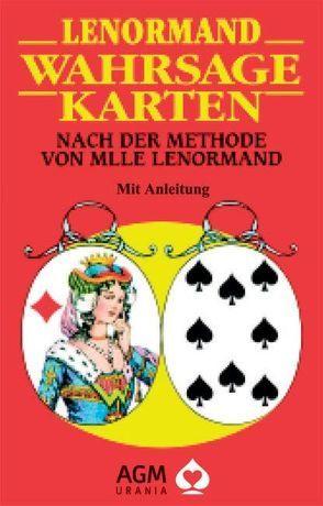 Lenormand Wahrsagekarten von Königsfurt-Urania Verlag