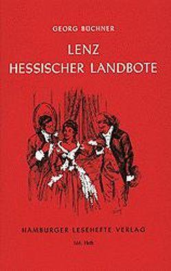 Lenz /Der Hessische Landbote von Büchner,  Georg