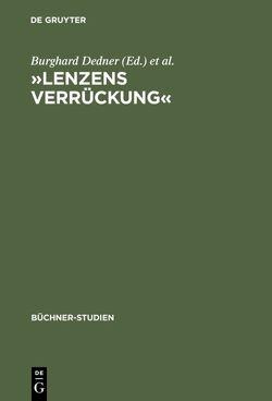 »Lenzens Verrückung« von Dedner,  Burghard, Gersch,  Hubert, Martin,  Ariane