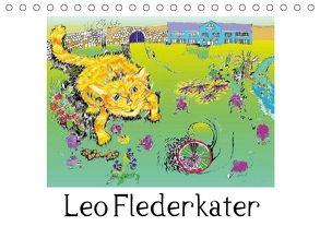 Leo Flederkater (Tischkalender 2018 DIN A5 quer) von Thümmler,  Silke