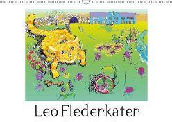 Leo Flederkater (Wandkalender 2019 DIN A3 quer) von Thümmler,  Silke