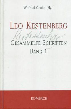 Leo Kestenberg: Gesammelte Schriften von Gruhn,  Wilfried, Kestenberg,  Leo