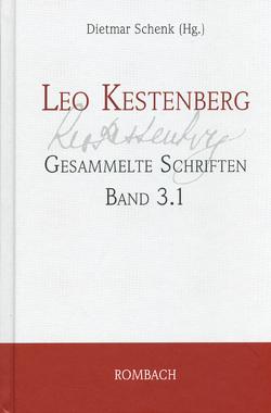 Leo Kestenberg – Gesammelte Schriften von Schenk,  Dietmar