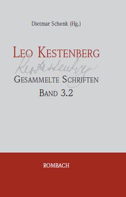 Leo Kestenberg Gesammelte Schriften von Schenk,  Dietmar