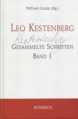 Leo Kestenberg: Gesammelte Schriften von Gruhn,  Wilfried