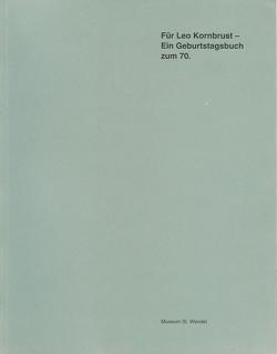 Leo Kornbrust – Werkverzeichnis der Skulpturen 1952-1999 von Hanus,  Katja, Lagerwaard,  Cornelieke