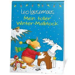 Leo Lausemaus Mein toller Winter – Malblock