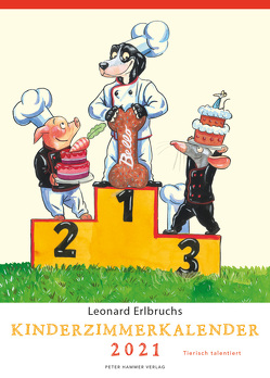 Leonard Erlbruchs Kinderzimmerkalender 2021 von Erlbruch,  Leonard