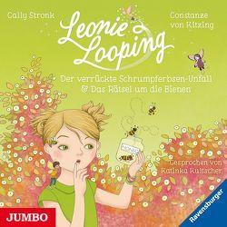 Leonie Looping. Der verrückte Schrumpferbsen-Unfall [3] / Das Rätsel um die Bienen [4] von Stronk,  Cally, von Kitzing,  Constanze
