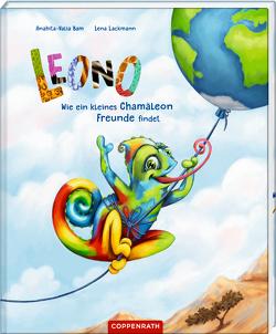 Leono – Wie ein kleines Chamäleon Freunde findet von Bram,  Anahita-Valia, Lackmann,  Lena
