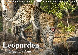 Leoparden. Elegante Jäger (Wandkalender 2019 DIN A4 quer) von Stanzer,  Elisabeth