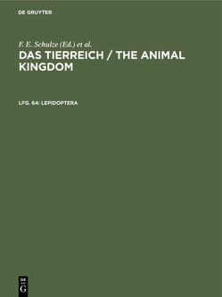 Lepidoptera von Bryk,  Felix, Deutsche Zoologische Gesellschaft, Hesse,  Richard, Mertens,  Robert, Schulze,  Franz Eilhard, Wermuth,  Heinz