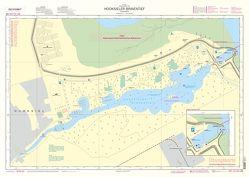 Lern-Seekarte 'Hooksieler Binnentief' von Schulze,  Michael