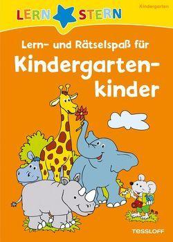 Lern- und Rätselspaß für Kindergartenkinder von Flad,  Antje