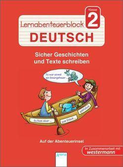 Lernabenteuerblock Klasse 2 Deutsch von Reimers,  Silke, Sengelhoff,  Barbara