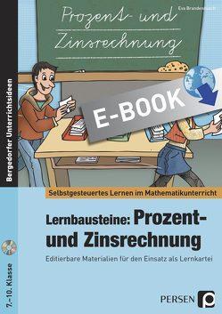 Lernbausteine: Prozent- und Zinsrechnung von Brandenbusch,  Eva