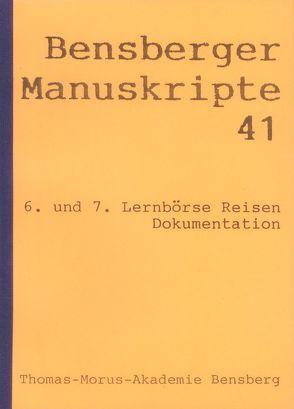 Lernbörse Reisen (6/7) von Bauer,  Hanne, Blusch,  Patricia, Bremer,  Jörg, Isenberg,  Wolfgang, Lennartz,  Stephan, Würbel,  Andreas