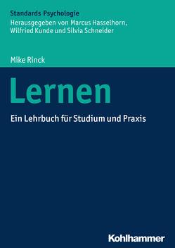 Lernen von Hasselhorn,  Marcus, Kunde,  Wilfried, Rinck,  Mike, Schneider,  Silvia