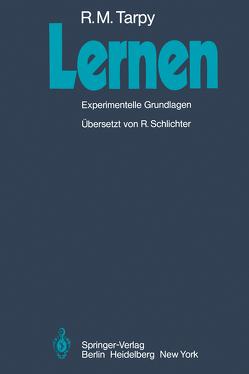 Lernen von Schlichter,  R., Tarpy,  Roger M.