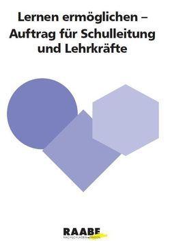 Lernen ermöglichen von Buchen,  Herbert, Horster,  Leonhard, Rolff,  Hans-Günter