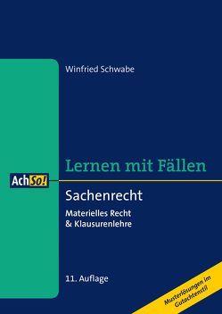 Lernen mit Fällen Sachenrecht von Schwabe,  Winfried