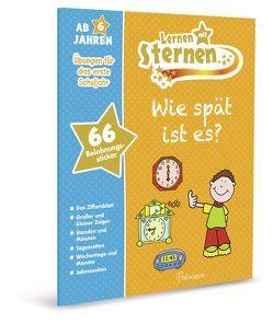 Lernen mit Sternen Wie spät ist es? von Abbott,  Simon, Lesezeichen Verlagsdienste,  Köln, Root,  Betty