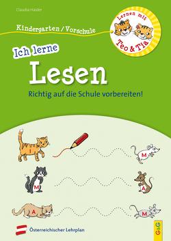 Lernen mit Teo und Tia – Ich lerne Lesen – Kindergarten/Vorschule von Broska,  Elke, Haider,  Claudia