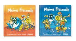 """Lernfreunde: Freundebuch """"Meine Freunde"""" – (sortierte Farben) von Geier,  Christian, Klingberg,  Stefan, Reiter,  Andreas"""