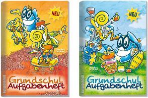 Lernfreunde: Grundschul Aufgabenheft A6 von Klingberg,  Stefan, Reiter,  Andreas