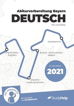 Lernheft Abiturvorbereitung Deutsch (Bayern) 2021 von Gottfried,  Thomas