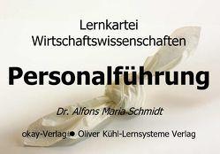 Lernkartei Personalführung von Schmidt,  Alfons M