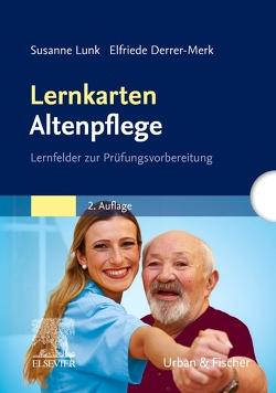 Lernkarten Altenpflege von Derrer-Merk,  Elfriede, Lunk,  Susanne