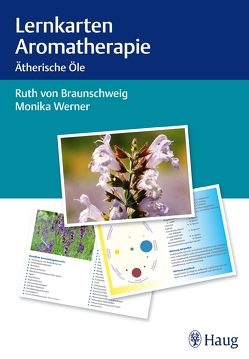 Lernkarten Aromatherapie von von Braunschweig,  Ruth, Werner,  Monika