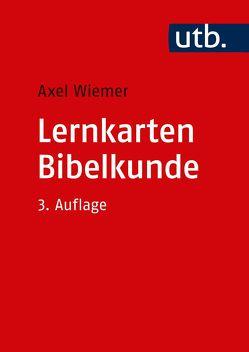 Lernkarten Bibelkunde von Wiemer,  Axel