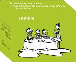 Lernkarten Gebärdensprache: Familie von Ribeaud,  Marina