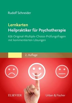 Lernkarten Heilpraktiker für Psychotherapie von Schneider,  Rudolf