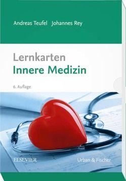 Lernkarten Innere Medizin von Rey,  Johannes, Teufel,  Andreas