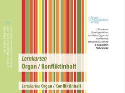 Lernkarten Organ/Konfliktinhalt von Ursula,  Stoll